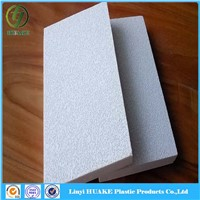 Acoustic square fiberglass ceiling /fiberglass ceiling tiles with soundproof/fireproof function