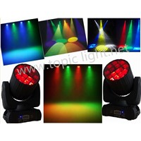 Amazing effect 12pcs 10w  LED Beam RGBW 4in1 Moving Head light, seven color beam and flower effect
