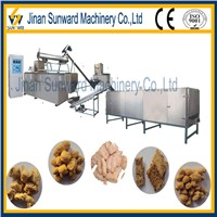 Low cost textured soybean protein machinery made in china