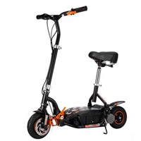 Mini portable EVO electric scooter foldable electric bicycle rear brake with seat max range 28km