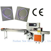 PVC Power Cored Electric Cable Wire Flow Wrapper Packing Machine