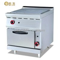 Stainless Steel Free Standing Gas Hot Plate with Oven BY-GH783-2