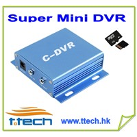 Super  Mini DVR support TF/SD Card recording