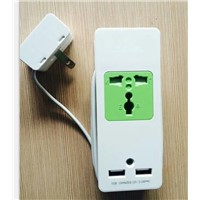 Wholesale Power Supply usb wall socket 240v With 2 2.1A USB Charger Ports