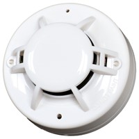DC Powered 4-Wire Smoke & Hear Detector with Relay Output Work with All Conventional Intelligent Fire Control