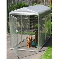 6ft Height Dog Run Kennel with top roof cover