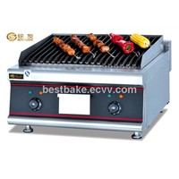 Stainless steel Counter top gas char Grill BY-GB589