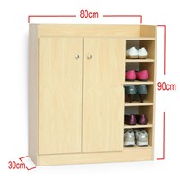 hot designed wood mdf shoe cabinet