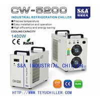 Water Cooled Recirculating Chiller for laser cnc router