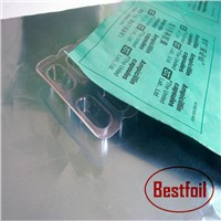 Push-through packing pharmaceutical aluminum foil