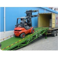 Hydraulic Mobile Dock Ramp For Container Working