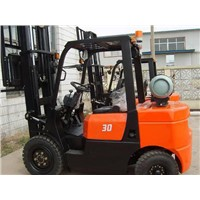 3 stage 4.5m mast  LPG & Gasoline Powered Forklift Truck