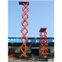 18m Mobile Scissor Work Lift Platform