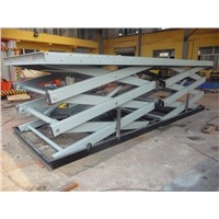 Hydraulic Stationary Scissor Car Lift Platform