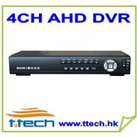 4CH 720P Realtime AHD DVR