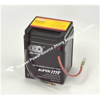 OUTDO Battery / Gel battery for motorcycle / 12V motorcycle battery / atv battery / scooter battery