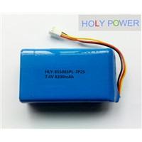 Polymer battery 7.4V 8200mAh HLY-855085PL-2S2P