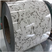 prepainted marble grain color coated ppgi for moveable house
