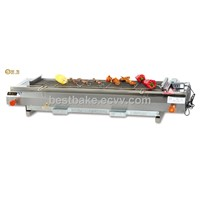Stainless steel smokeless Gas Barbecue Oven(BY-GB110)
