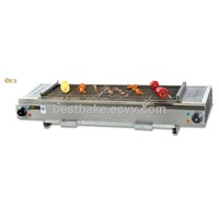 Stainless steel smokeless Gas Barbecue Oven(BY-GB580)