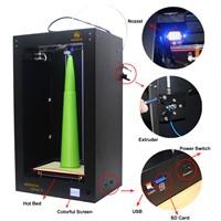 Mingda 3d printer large build size 300*200*400mm, 3d model maker, 3d printer filament abs pla