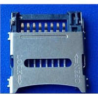 Molex equivalent 8pins T-flash cardholder connector for memory card