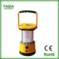 emergency rechargeable LED USB solar lanterns