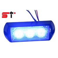 Dual Color Car Grill Light LED Warning Light head