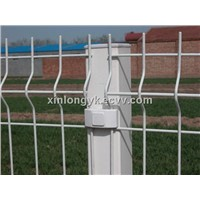 Fold metal fences for garden/welded wire fence
