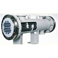 SIC shell and tube heat exchanger