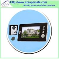 """Wireless 7"""" video doorphone"""