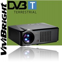 Amazing low price video Projector S200,for home theater 800x480 pixels with Tv tuner