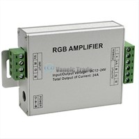 DC12V-24V Led RGB Strip Amplifier 24A Led rgb Amplifier RGB Strip Power Repeater Console Controller