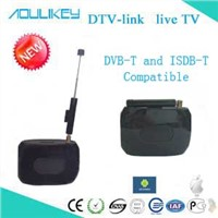 DVB-T&ISDB-T digital tv receiver,DTV Link support all formats including H.264/MPEG-4 and MPEG-2!