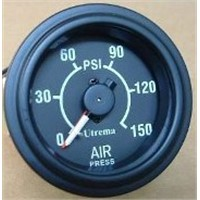 "Utrema Dual needle Air Pressure Gauge 2"", 150psi"