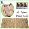 8mm stone sheet rhinestone mesh