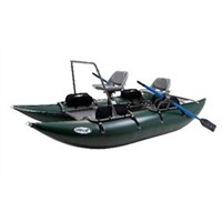 Outcast Fish Cat 13 Pontoon Boat (DBL Action Pump Included)