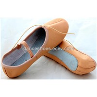 Ballet shoes,Leather ballet shoes,Cow leather Upper