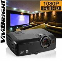 PRF8200,True full hd projector,true 1920*1080 Pixels Peer to peer DLP Projector with 3D