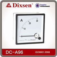 Analog panel dc ammeter 30a