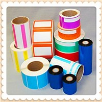 wholesale laminated lucky sticker rolls cute design scrapbook sticker self adhesive wrapping paper