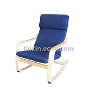 Relax Chair/Bend Wood Chair/birch wood chair/rocking chair/living room chair