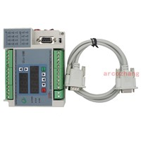 20MR 12in 8 relays out PLC 2AD 2DA Analog with RS232 cable by Mitsubishi FX1S PLC GX
