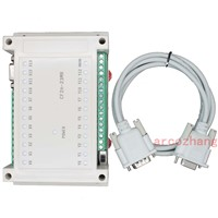 23MR 12 input/11 relay output,PLC with RS232 cable by Mitsubishi FX2N GX Developer ladder