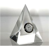 office decoration crystal table clock