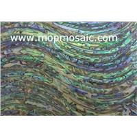 New zealand green abalone shell laminate