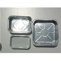 foil containers for food packing or aviation food container