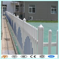 White 6'*8' Panel Vinyl Picket Fence with ASTM Standard