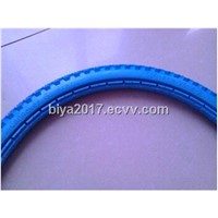 20 inch solid polyurethane tire for bicycle  wheel chair 20x1.65""