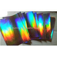 transfer holographic paper